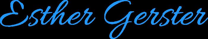 Esther Gerster – Malerin Logo